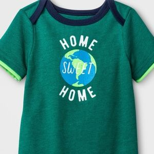 """18 month NWT Cat & Jack onesie """"Home Sweet Home"""""""